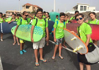 Preparados para el surf